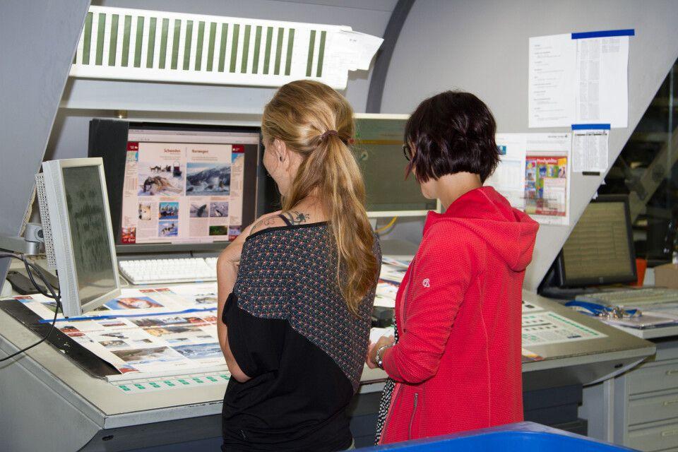 In der Druckerei Vetters konnten wir spannende Einblicke in den Druckprozess unseres jährlichen Hauptkataloges bekommen.