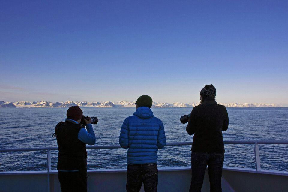 Abendstimmung an Spitzbergens Westküste