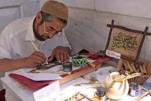 Kalligraph in Samarkand