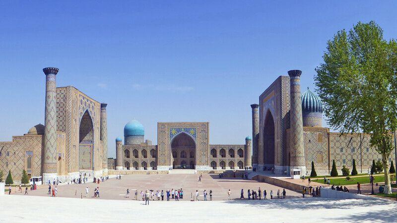 Der Registan von Samarkand © Diamir