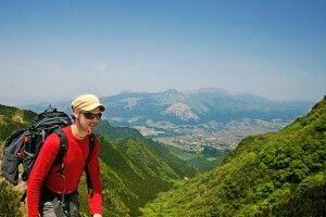 Trekking im Aso NP