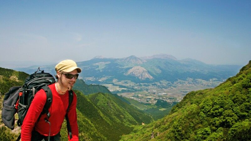 Trekking im Aso NP © Diamir
