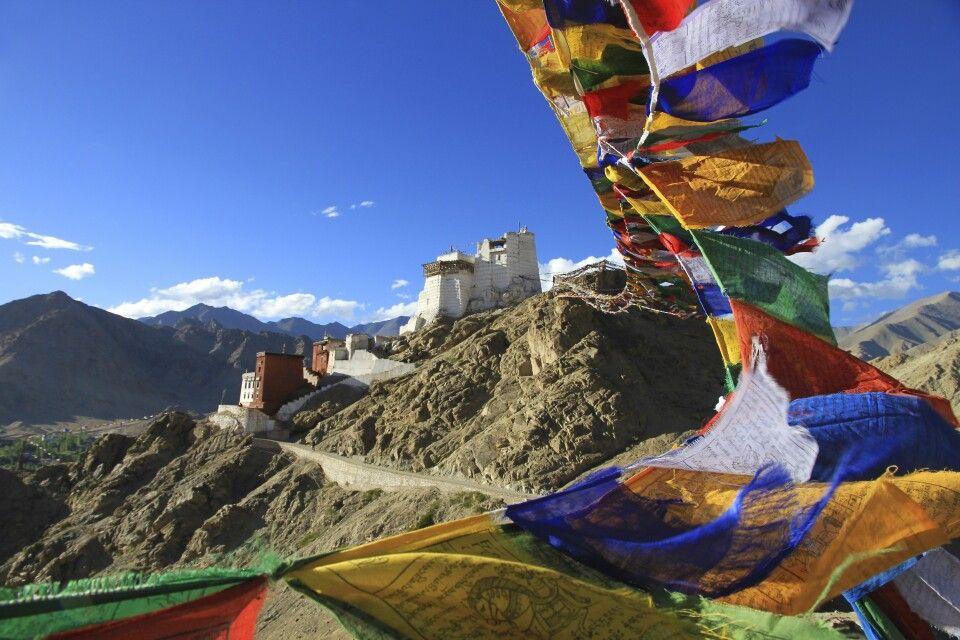 Festung in Leh, Ladakh