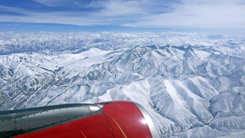 Panoramaflug nach Leh © Diamir