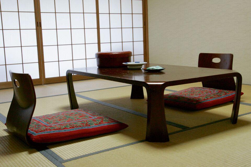 Ryokan - traditionalle japansiche Unterkunft