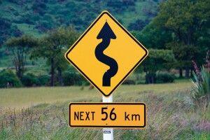 Roadsign Neuseeland