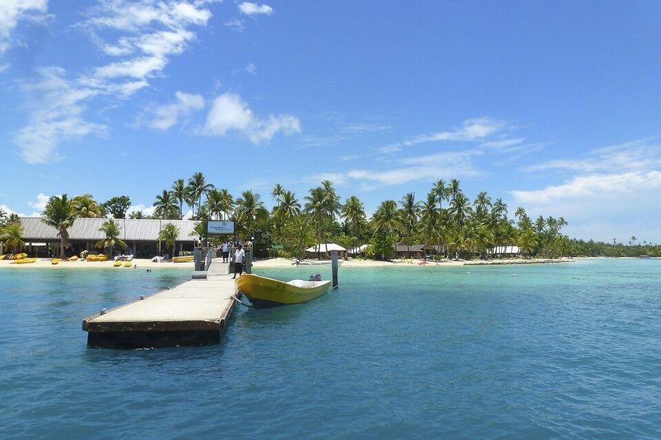 Ankunft Plantation Island - Yasaway Inselgruppe