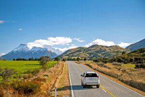 Queenstown Glenorchy Self Drive Southern Alps Straße 42*28