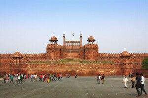Rotes Fort in Delhi