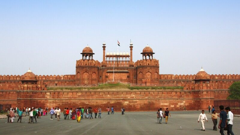 Rotes Fort in Delhi © Diamir