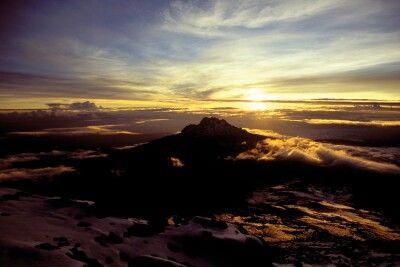 Sonnenaufgang am Kilimanjaro