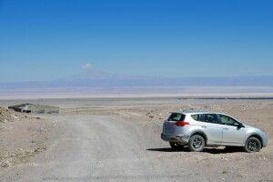 Mit dem Mietwagen in der Atacama-Wüste