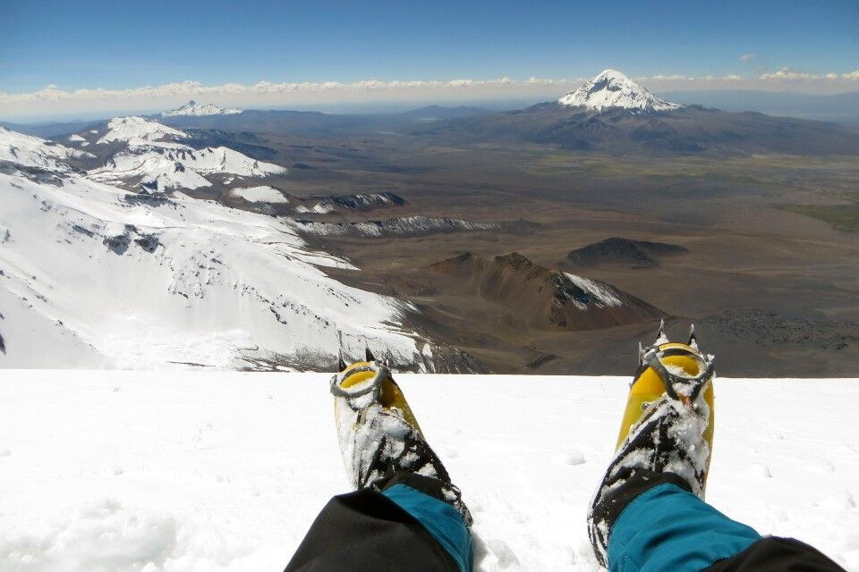 Gipfel Parinacota