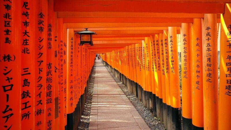 Inari Schrein in Kyoto © Diamir