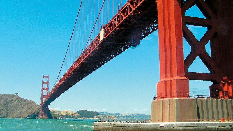 Golden Gate Bridge in San Francisco © Diamir