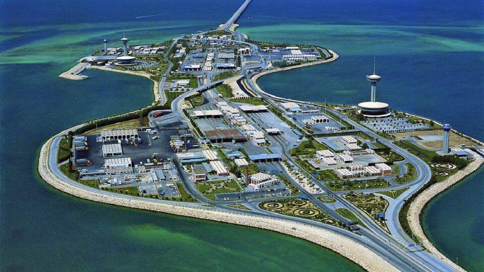 Brücke Katar- Bahrein
