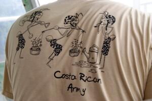 Die einzige Armee, die Costa Rica hat, sind die Ameisen