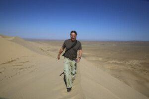 Thomas Kimmel in der Mongolischen Wüste