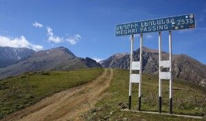 Höchster Pass Armeniens