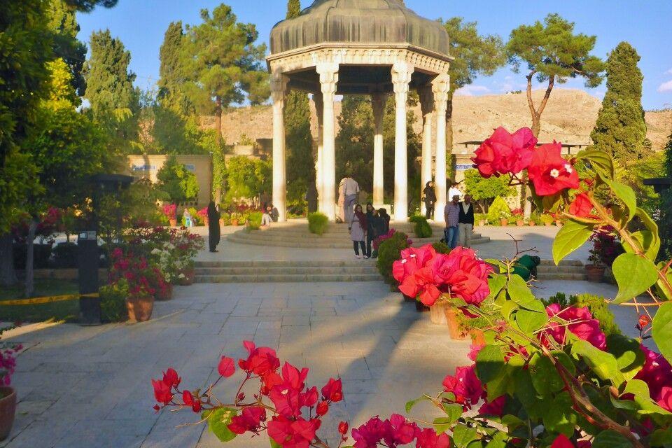 Grab des Hafis in Shiraz
