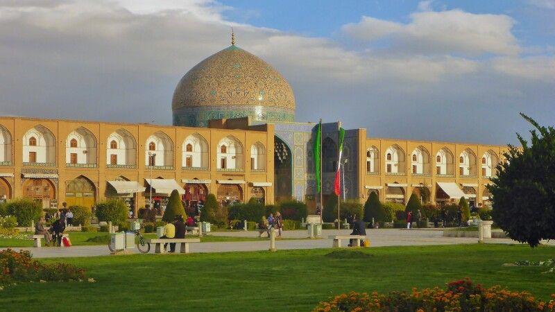 Scheich Lotfollah Moschee Isfahan © Diamir