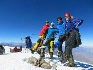 Chachani Gipfel