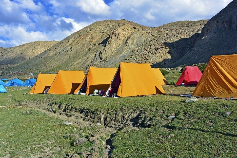 Markha Valley, Camp Thachungtse (4240m), Nimaling Chu (Bach) in der Nähe