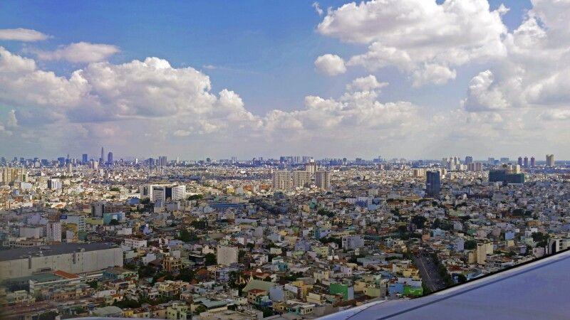 Blick über Saigon © Diamir