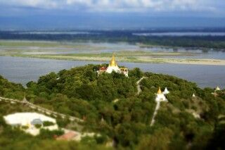 Sagaing Hill bei Mandalay