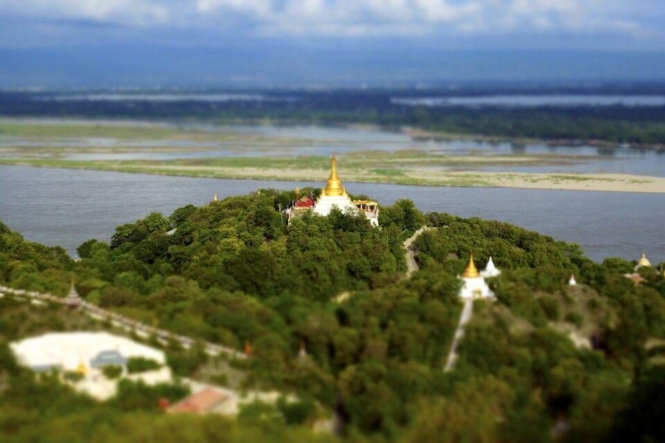 Sagaing Hill bei Mandalay
