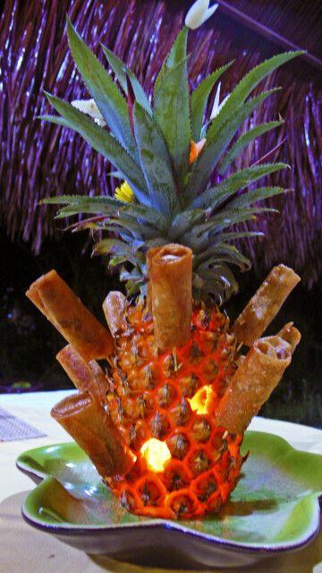 Auf hübsche Dekoration des Essens wird in Vietnam immer großer Wert gelegt