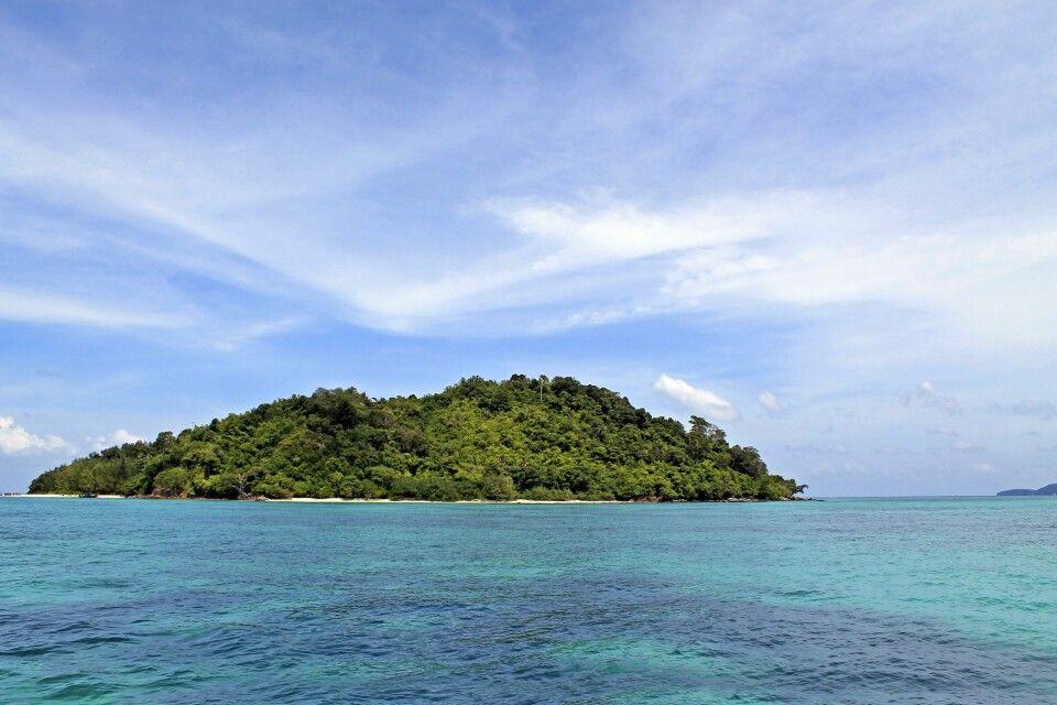Insel in der Andamanen-See