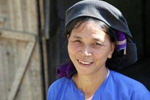 Vertreterin der Black Hmong