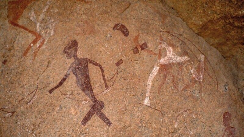 Felszeichungen in Twyfelfontein © Diamir