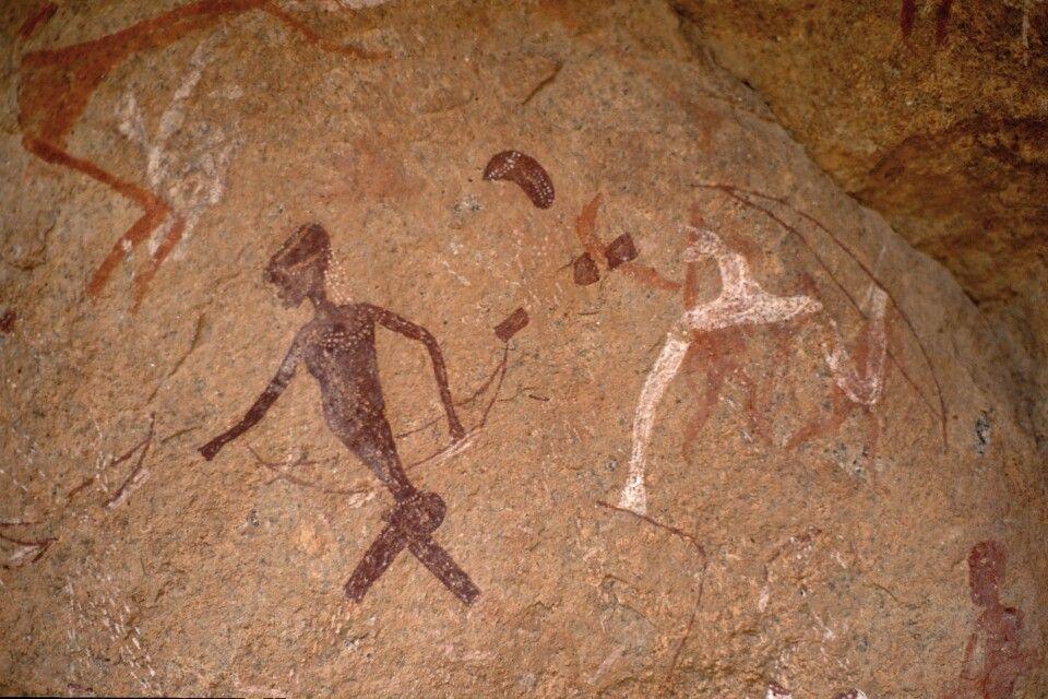 Felszeichungen in Twyfelfontein