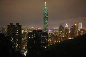 Der beste Blick auf den Taipei vom Elephant Hill