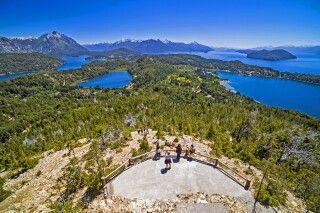 Blick vom Cerro Campanario, San Carlos de Bariloche