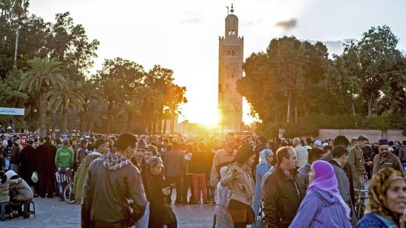 Koutoubia Moschee in Marrakesch © Diamir