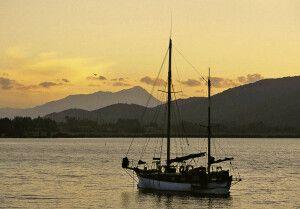 Per Boot auf den Southern Lakes bei Te Anau