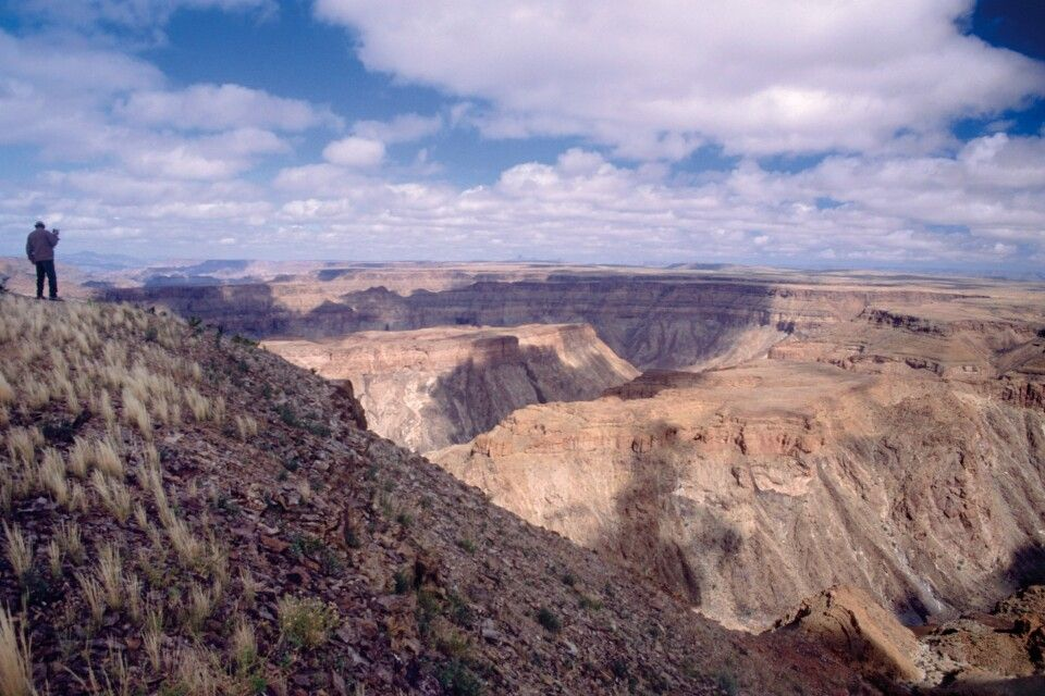 Am Fish River Canyon