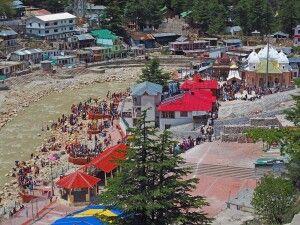 Pilger in Gangotri