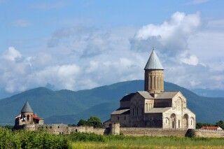 Klosteranlage von Alawerdi in Kachetien