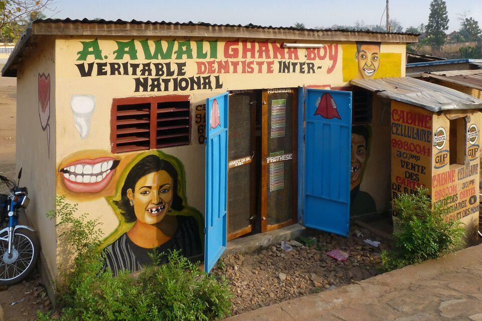 Togo, Sokode, Zahnarztpraxis