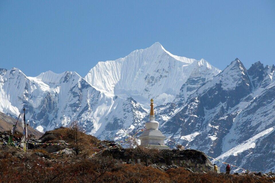 buddhistischer Einfluss im Langtang-Tal