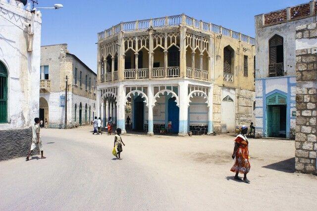 Innenstadt in Massawa