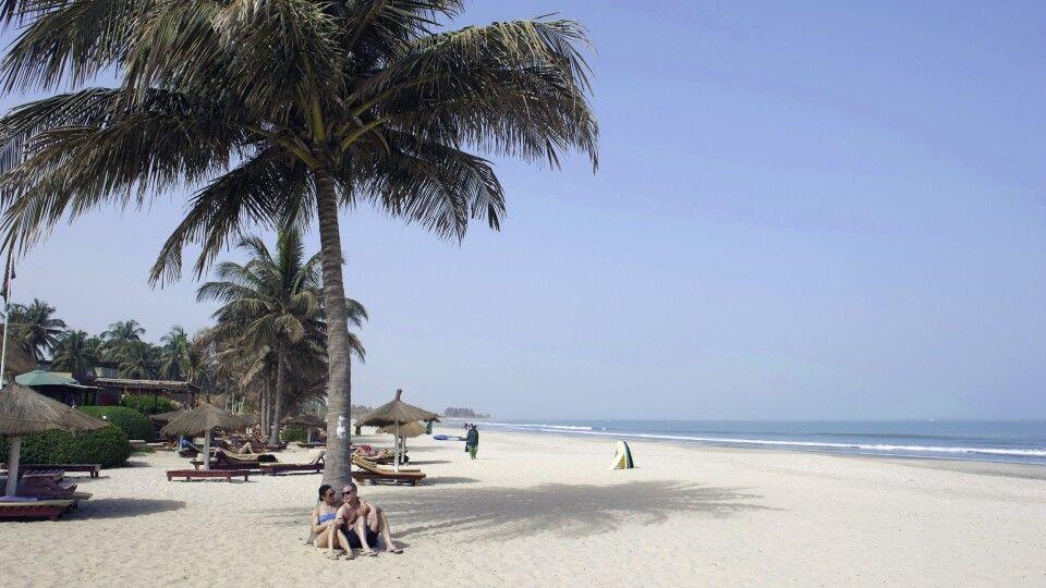 Strand im Kombo Beach Hotel