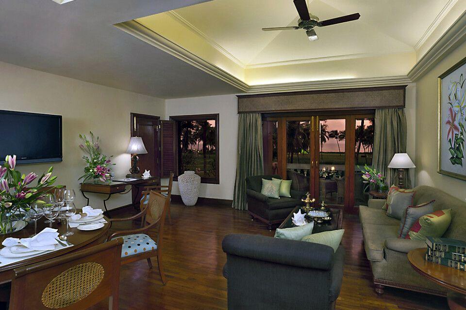 Taj Exotica_Goa_Luxury Suite Living Room