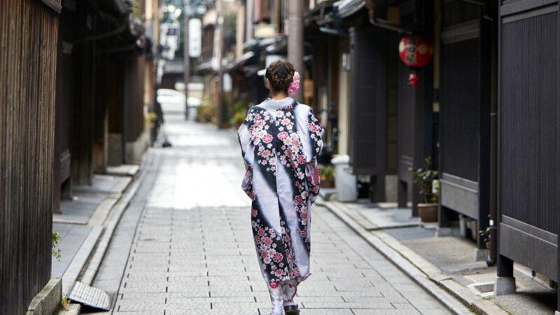 Altstadtviertel Gion in Kyoto © Diamir