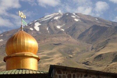 Blick zum Damavand (5761 m)
