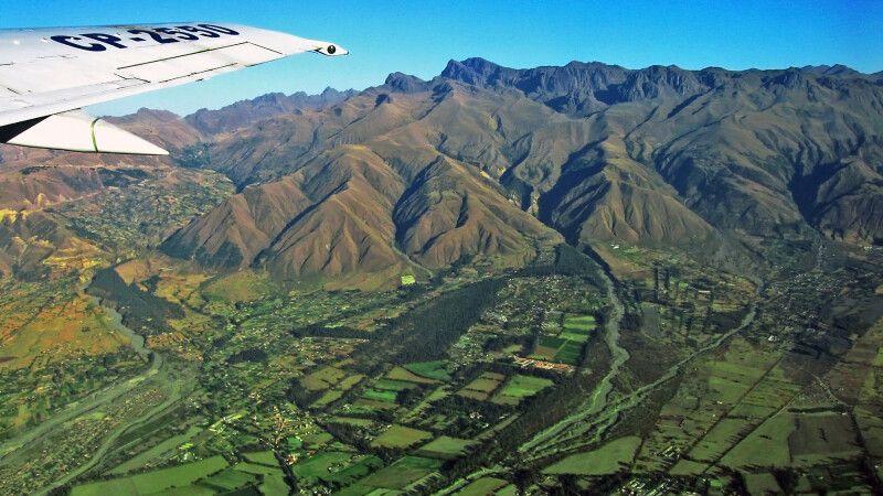 Tunari Kordillere und Hochtal von Cochabamba © Diamir